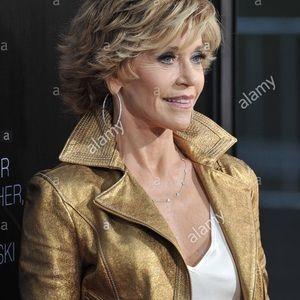 Finity Studio Jackets & Coats - Finity Studio Gold Leather Jacket